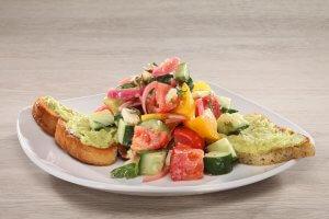 avocado toast salad