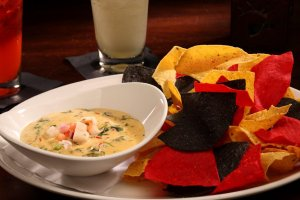 Lobster Spinach Queso