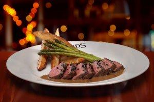 Pepper Encrusted Steak