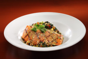 Grilled Salmon Bowl - Dinner