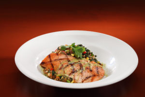 Grilled Salmon Bowl - Lunch