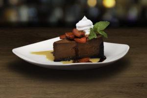 Pyramid Peak Chocolate Cheesecake