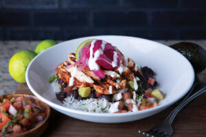Chile Rubbed Chicken Bowl