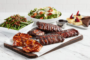 Ribs and Chicken Family Meals
