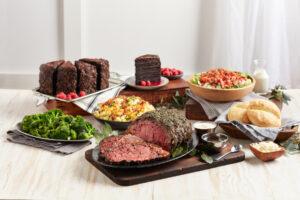 Prime Rib Feast serves 4-6