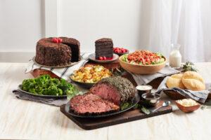 Prime Rib Feast serves 8-10